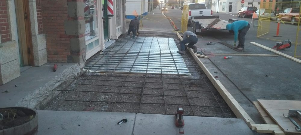 Fort Macleod Sidewalk Replacement Concrete